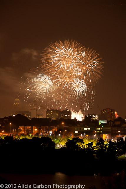Boston 4th of July Fireworks
