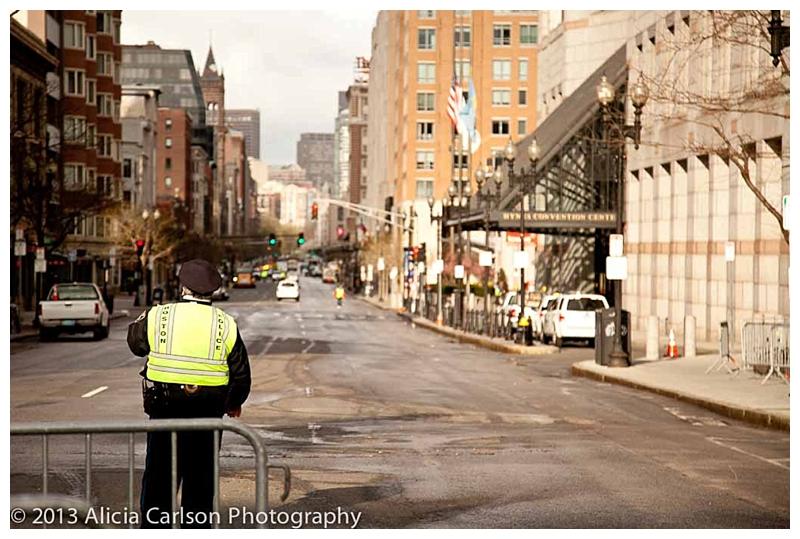 Boylston Street Reopens