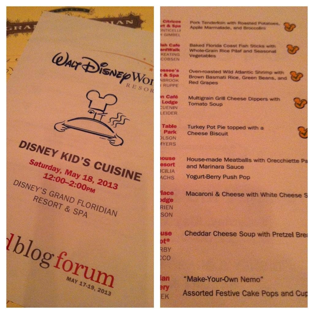 Healthy Food at Disney World